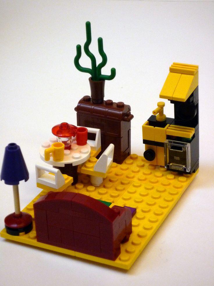 105 Best Lego Kitchen Images On Pinterest Lego Legos