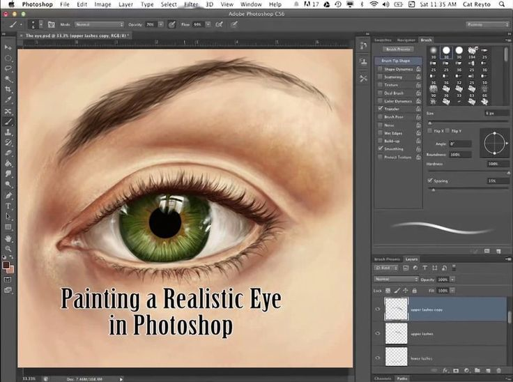 How to Paint the Human Eye
