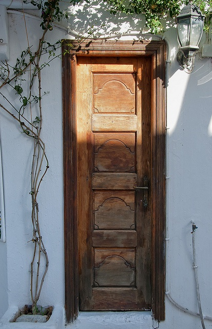 Mykonos - Old Wooden Door by Marcus Frank, via Flickr