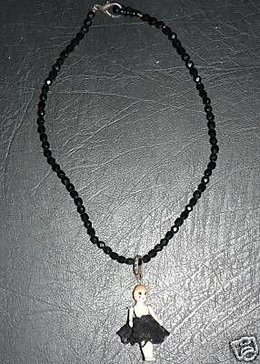Les Nereides - doll necklace