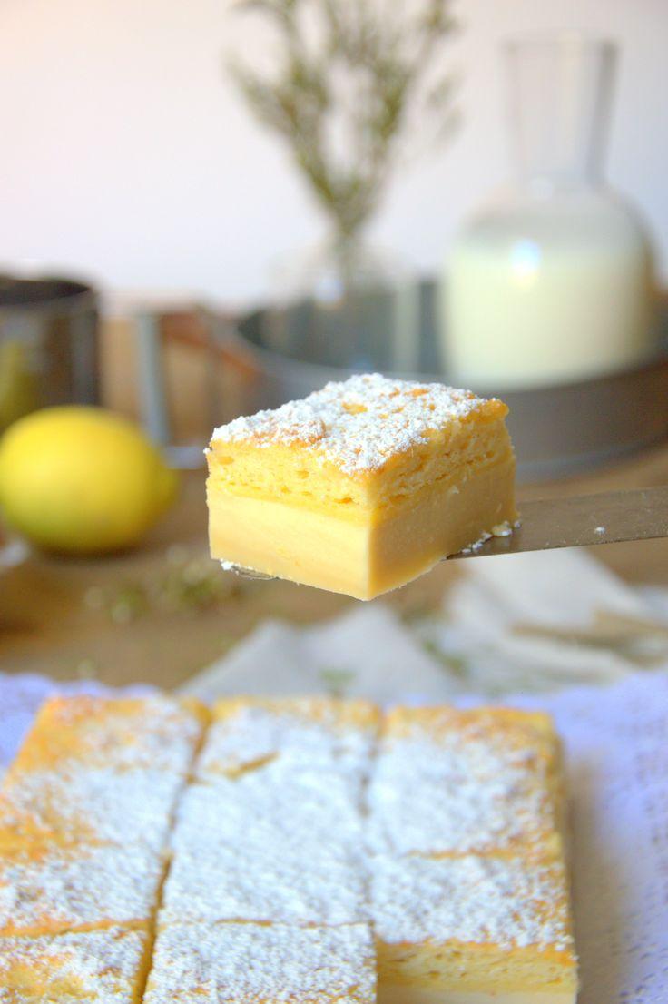El pastel inteligente es un postre con tres texturas que se hace con una sola masa.