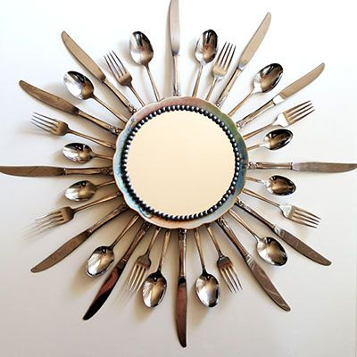 Crafts Made With Old Spoons Forks And Knives