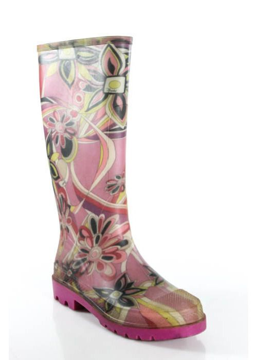 PUCCI Rainboots. $31.15. And, it rains a Lot in Birmingham. Too late ladies - I got this one. :)