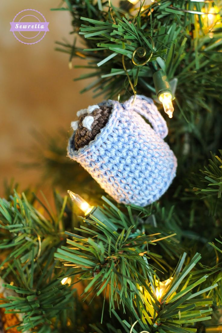 243 best Christmas Ornaments -Knit/Crochet images on Pinterest ...