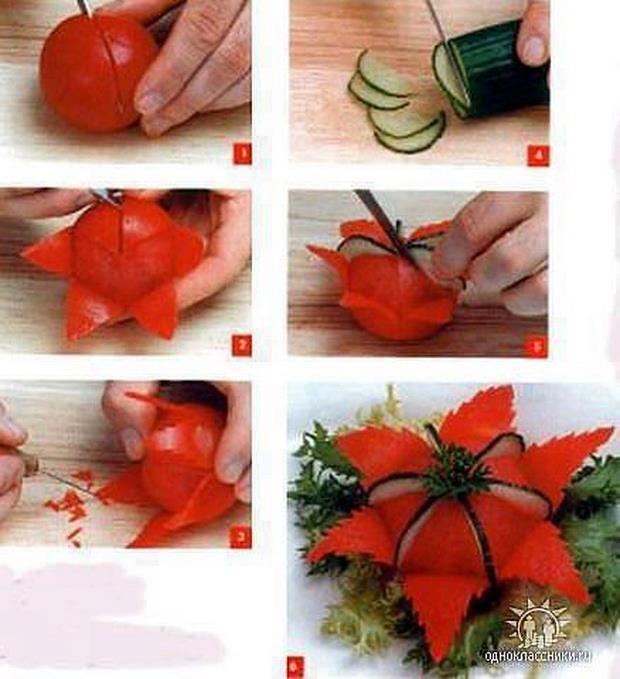 Flor tomate-pepino