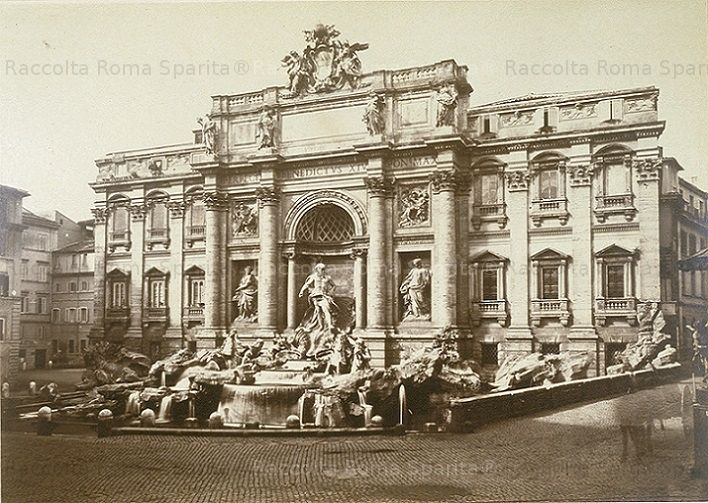 Fontana di Trevi Anno: 1876