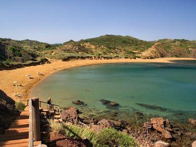 Las mejores playas de España: Playa de Cavallería, Menorca