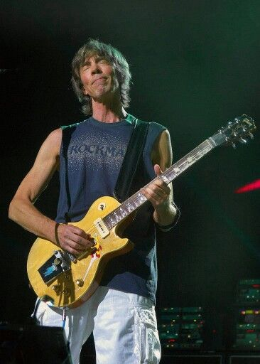 Tom Scholz of the band Boston. His creative effects made the first Boston album a classic and set the rule for guitarist to come....