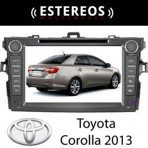 Estereo Multimedia Con Navegador Satelital Toyota Corolla 2013