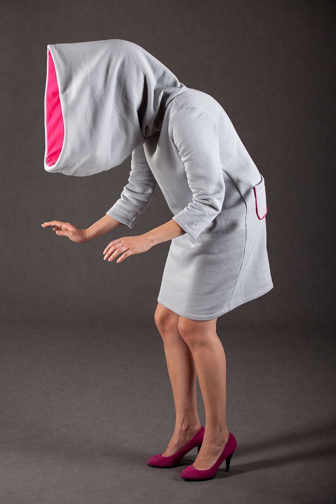 Hoody dress by Lakola