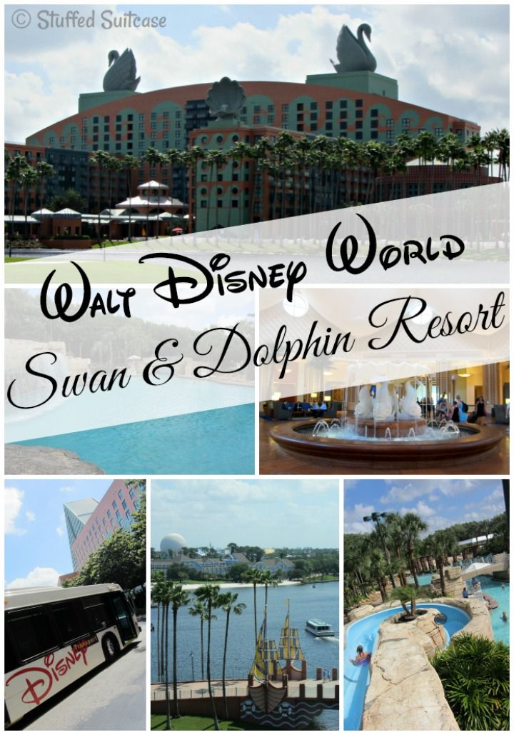 Walt Disney Swan and Dolphin Hotel at Disney World Resort StuffedSuitcase.com review