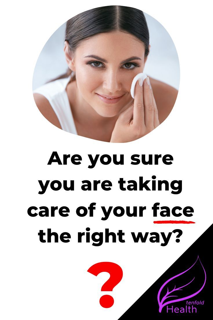 Healthy Lifestyle Health Tenfold Face Health Cleansing Face Natural Skin Care