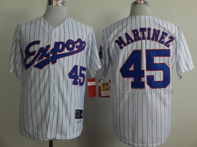 http://www.xjersey.com/expos-45-martinez-white-1982-throwback-jerseys.html EXPOS 45 MARTINEZ WHITE 1982 THROWBACK JERSEYS Only $36.00 , Free Shipping!
