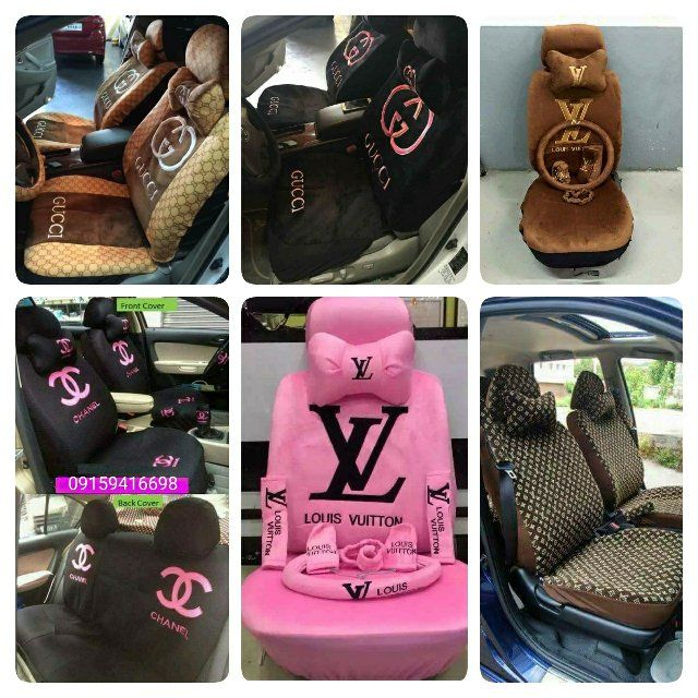 Enjoyable Gucci Chanel Lv Car Seat Cover Auto Accessories Others On Pdpeps Interior Chair Design Pdpepsorg