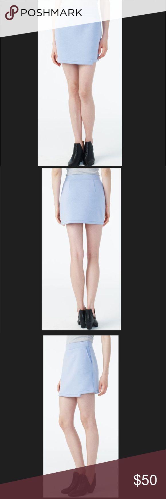 """ARMANI EXCHANGE KNIT GEO - HEM MINI SKIRT. ARMANI EXCHANGE KNIT GEO - HEM MINI SKIRT.          Size : XS Approx Length 15"""".                                                Size : S Approx Length 15 1/2 """" A/X Armani Exchange Skirts Mini"""