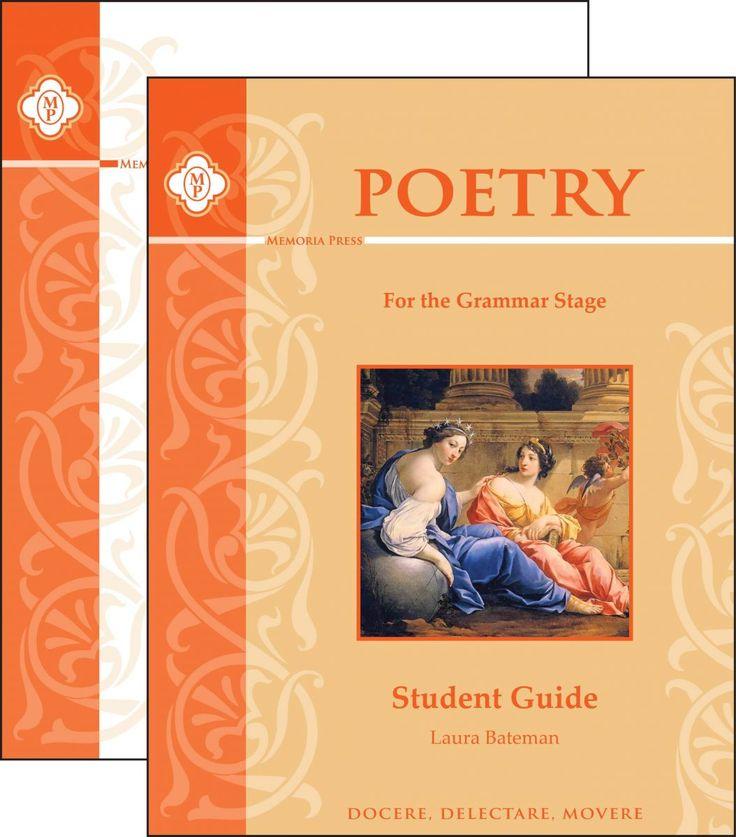 Poetry | American and British Poetry Anthologies | Memoria Press
