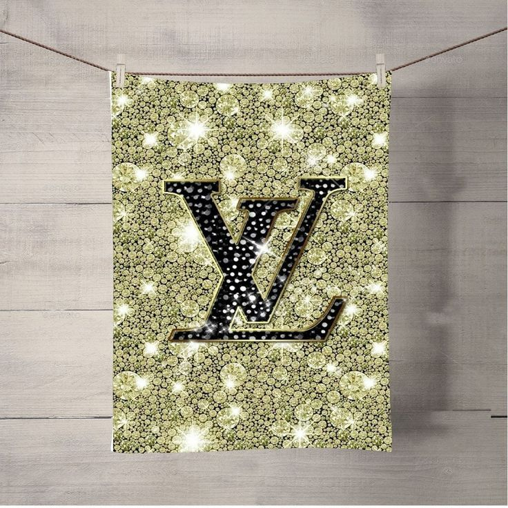 Luois Vuitton Diamond Clean Bath Towel Beach Towels