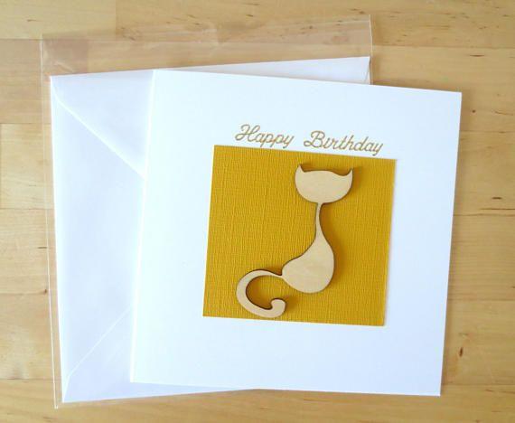 The 25 best Cat birthday cards ideas – Birthdays Card Shop Uk