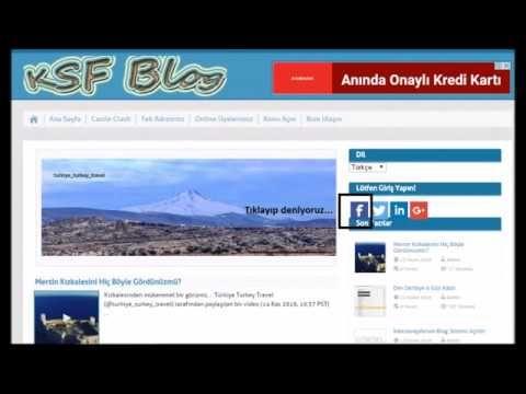 Wordpress Super Socializer Login Videolu Anlatım | Kale Savaşı Forum/Blog