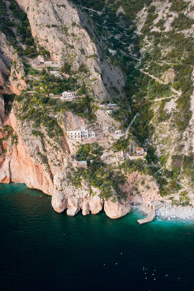 Ascent: Holy Mountain from Above. Travel Guide to Athos.