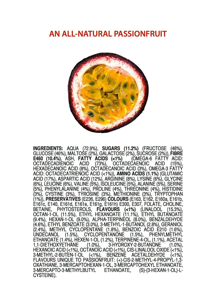 """Australian chemistry teacher James Kennedy has created a tongue-in-cheek set of images that take a fresh perspective on the public discussion about fresh and organic foods vs. the genetically modified products and chemical pesticides being championed by companies like Monsanto. His posters take all-natural products and break them down by their chemical composition, or their """"ingredients."""""""