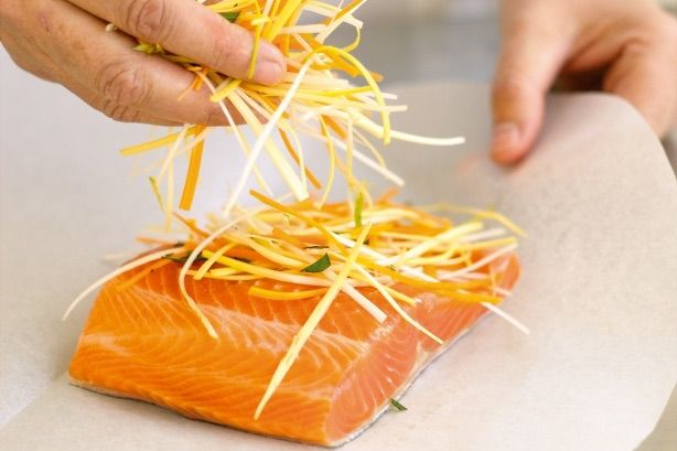 The perfect Easter Salmon dish