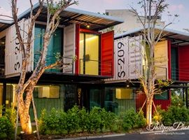 Sleepbox - Shipping container hotel in Chiang Mai ($20/night). Just NE of the Old City - easy to catch the red truck back into town (20 baht/person). Great room for a short stay. 2 bottles of water/day included