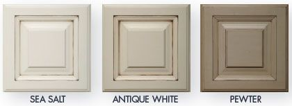 Antique White Kitchen Cabinets white painted glazed kitchen cabinets my secret to glazing etc in