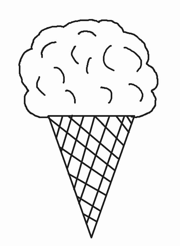 24 Ice Cream Cone Coloring Page In 2020 Ice Cream Coloring
