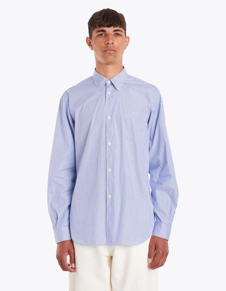 Très Bien - Classic Shirt Blue Stripe | TRÈS BIEN