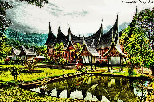 gadang house  Indonesia