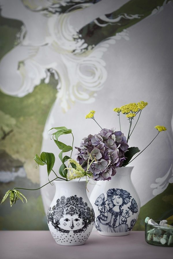 Bjørn Wiinblad Vases interior