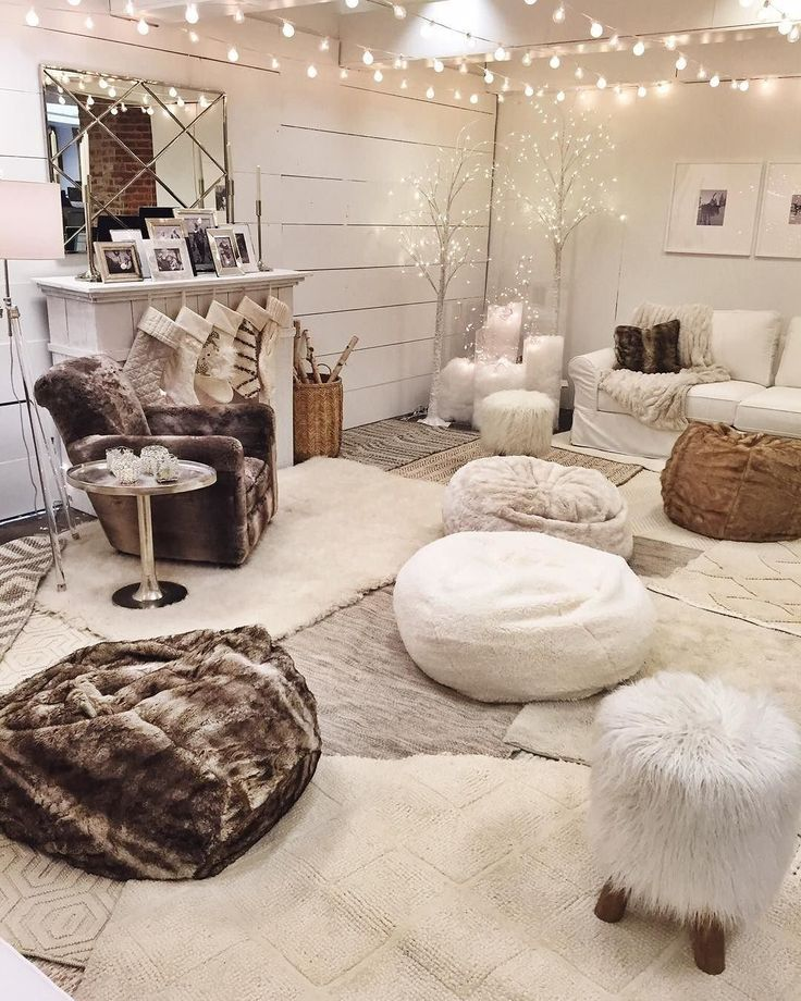 Great Faux Fur Beanbags Sink Into A Cozy Beanbag For Movie Watching, Game Playing  Or Good Ideas