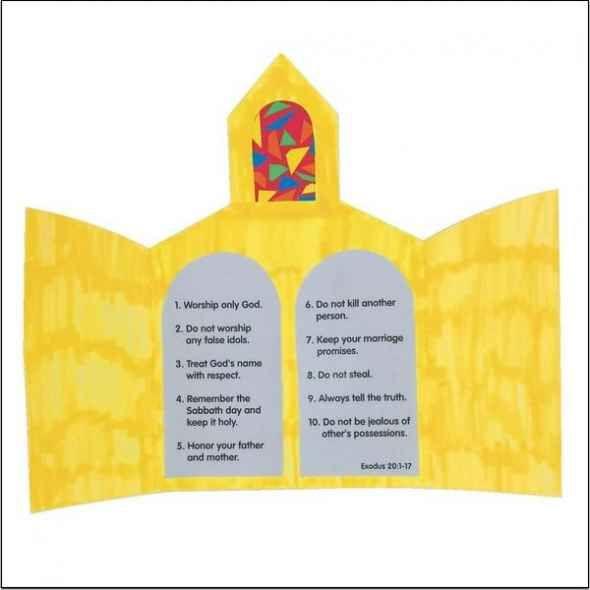 Christian craft ideas for sunday school bible story arts for Christian sunday school crafts