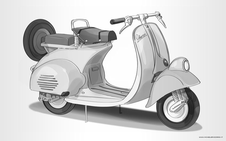 VESPA PIAGGIO 1954. #vespa #piaggio #scooter #watercolor #acquarello #surface #surfacepro #surfacepro2 #surfacepro3 #surfaceart #Microsoft #Wacom #digital #digitalpainting #painter #corel #corelpainter #digitalsketch #sketch #sketchbook #sketching #sketches #pencil #visualizer #comics #graphicnovel