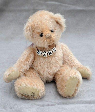 Adopt a bear today THOMAS by: Elizabeth Lloyd of Cupboard Bears
