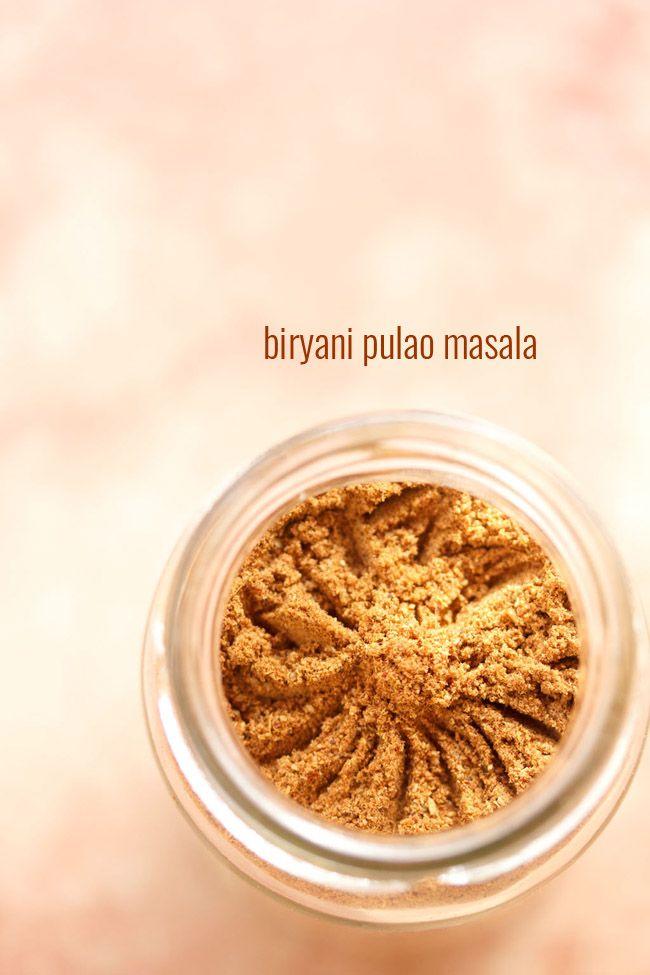 biryani pulao masala powder recipe - an aromatic masala to make tasty biryani and pulao #spices #condiment
