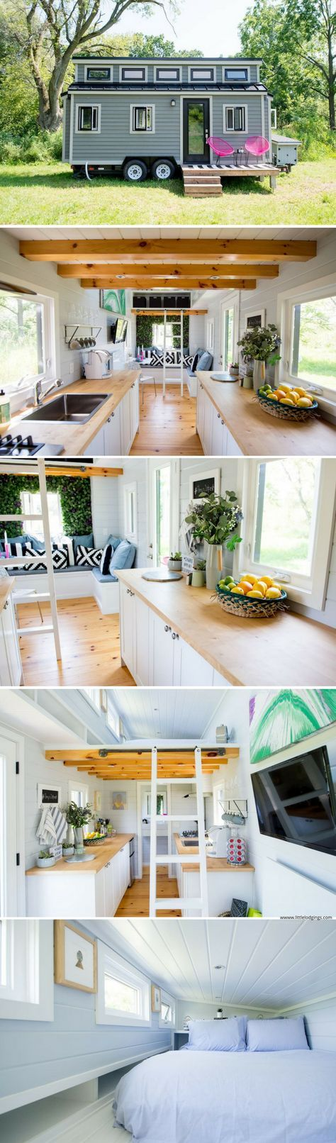 The Pomp Outpost: a tiny house in Prince Edward County, Ontario. Perfect for couples!