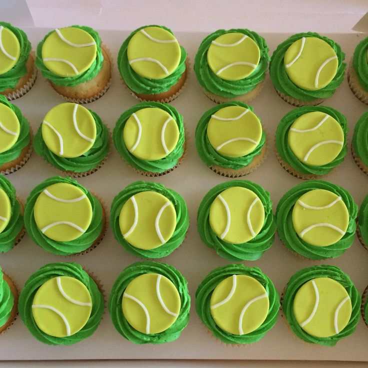 Tennis cupcakes (2)
