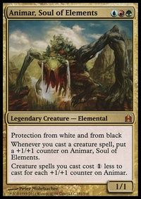 Animar, Soul of Elements - Temur (Commander / EDH MTG Deck)