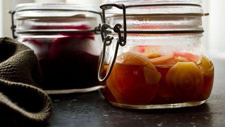 Pickled beetroots (bieten op zuur) - Bijzonder Spaans !