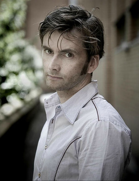 David Tennant - here comes the smolder.