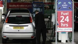 Fuel prices hit 18-month high after Opec production cuts
