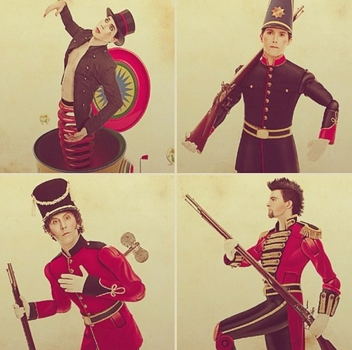 My toy soldiers