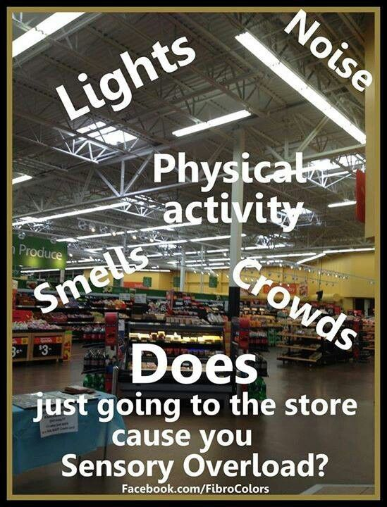 Healthy people don't understand how truly draining an outing to the market is.  And the mall?  Forget about it!
