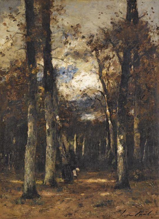 László Paál - Forest at Fontainebleau