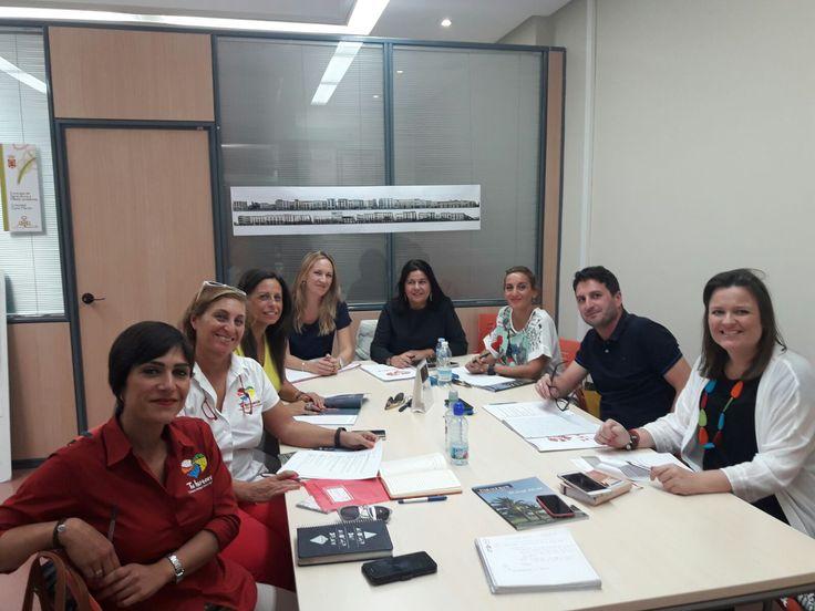 Hoy hemos celebrado la Comisión técnica de la #FundaciónCiudadesMediasdelCentrodeAndalucía en #AlcalálaReal. Planificando el futuro de Tu historia #AlcalálaReal #Antequera #Écija #Lucena #PuenteGenil