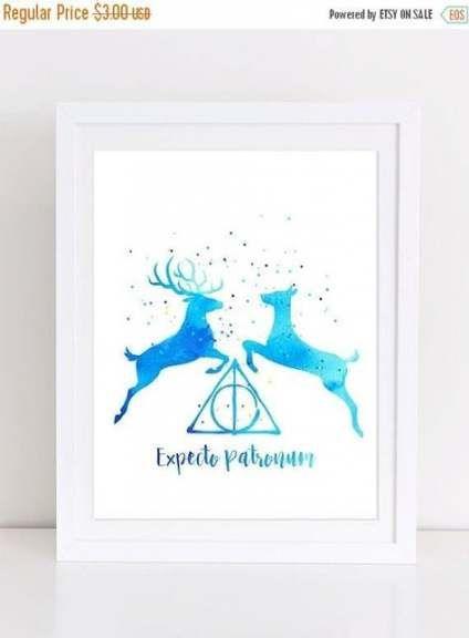 Tätowierung Aquarell Harry Potter Wohnkultur 36 Super Ideen