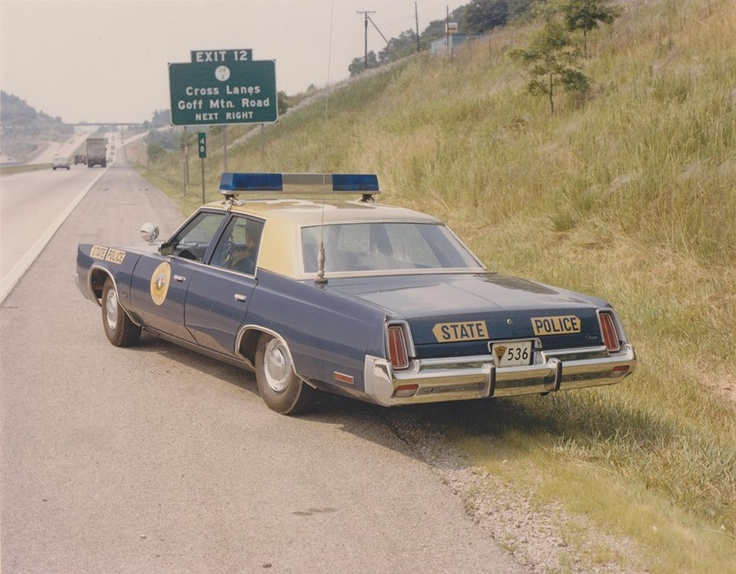 West Virginia State Police, 1970's - near where my family lives.