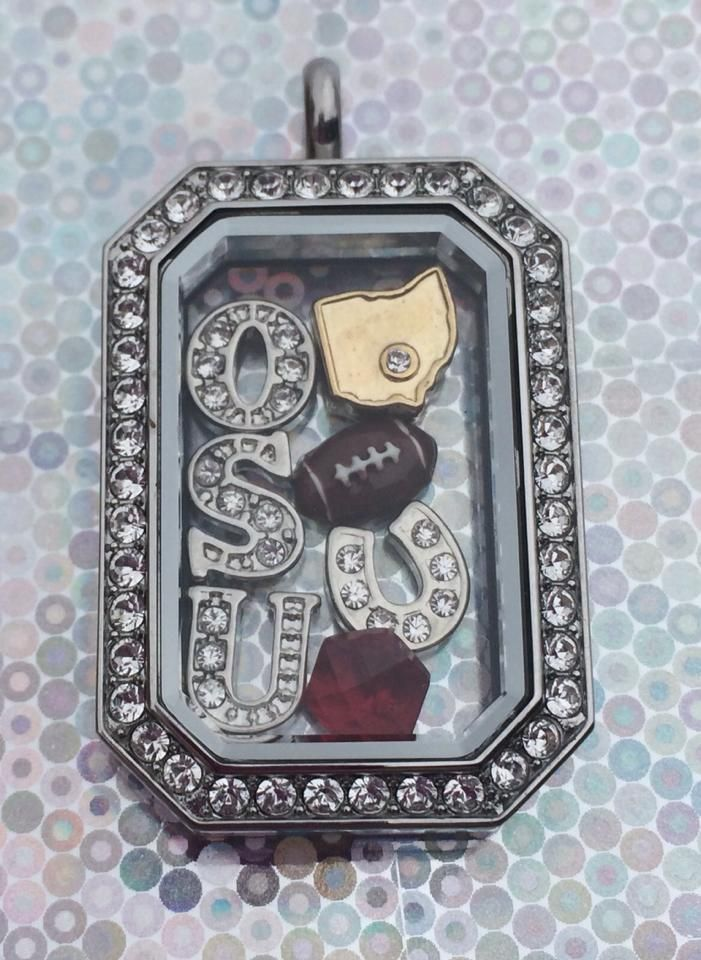 The Perfect gift for the Ohio State fan in your life!! The new Heritage Locket from Origami Owl! #OHIO #OSU #Heritage #gobucks #origamiowl
